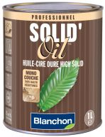 Huile dure solid'oil anthracite 1l