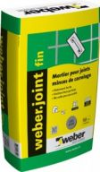 MORTIER JOINT WEBER.JOINT FIN BLANC PUR 5KG LSN BLANC PUR(BLP)