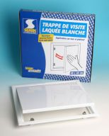 TRAPPE LAQUEE BLANCHE 200x200 mm