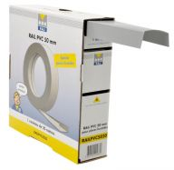 RAIL PVC LARGEUR 50 MM (ROULEAU DE 20 ML)