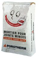 POROTHERM Mortier joint mince 48 SACS/PAL